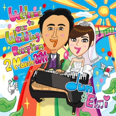 Jun&Emi結婚式\(^フ^)/(フのクチ普及計画No.28~29)