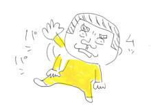 $父ちぼいの絵日記-パンパン